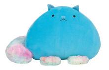 Fluffy Cat Azzurro. Gatto Supermorbidone Azzurro 15 Cm