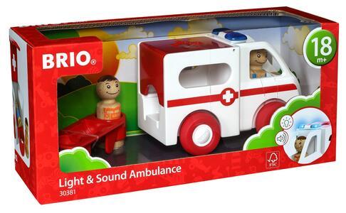 Brio Ambulanza Luci E Suoni - 10