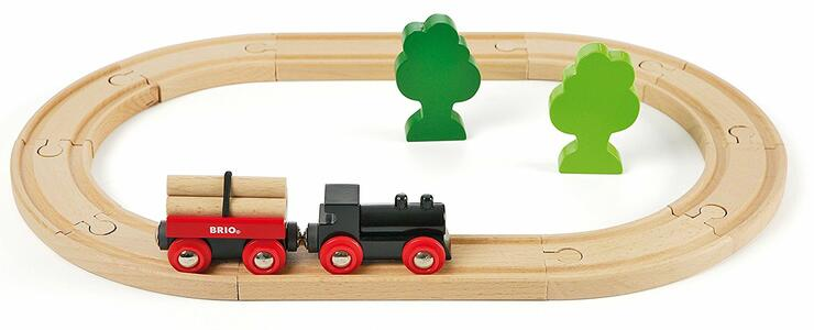 Brio Piccolo Set Ferrovia Della Foresta - 11