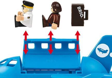 Brio Set Aeroplano Con Scala Imbarco - 5