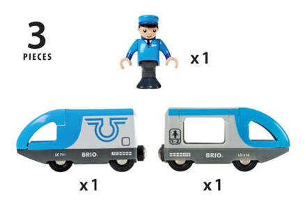 Brio Treno Passeggeri A Batterie - 15