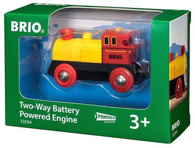 Brio Locomotiva Bidirezionale A Batterie - 12