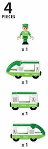 Brio Treno Passeggeri Verde - 9