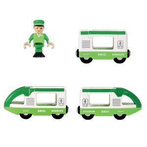 Brio Treno Passeggeri Verde - 17