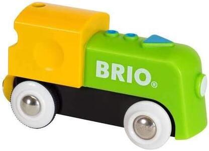 Brio La Mia Prima Ferrovia: Locomotiva A Batterie - 4