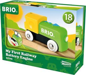 Brio La Mia Prima Ferrovia: Locomotiva A Batterie - 6