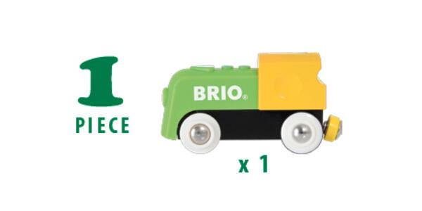 Brio La Mia Prima Ferrovia: Locomotiva A Batterie - 8
