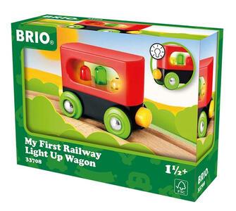 Brio Il Mio Primo Vagone Ferroviario Con Le Luci - 5