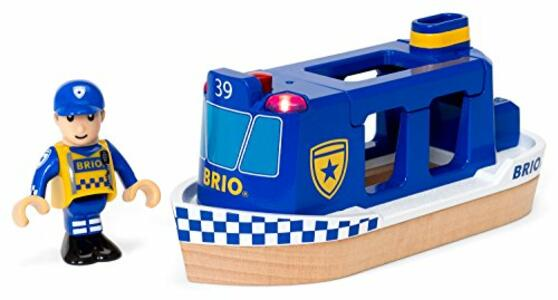 Brio Motoscafo Della Polizia