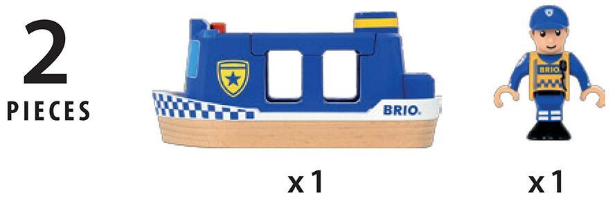 Brio Motoscafo Della Polizia - 11