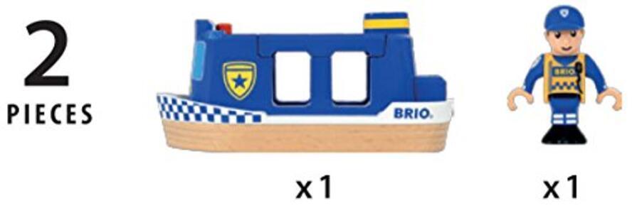 Brio Motoscafo Della Polizia - 5