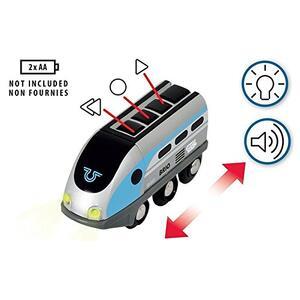 Brio Smart Tech Locomotiva Intelligente Con Tunnel - 3