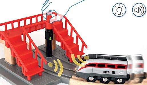 Brio Smart Tech Set Locomotiva Intelligente Con Tunnel - 12