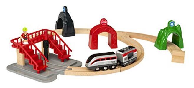 Brio Smart Tech Set Locomotiva Intelligente Con Tunnel - 2