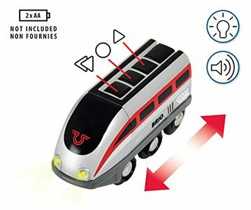 Brio Smart Tech Set Locomotiva Intelligente Con Tunnel - 3