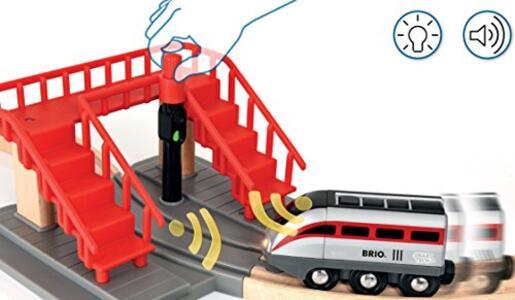 Brio Smart Tech Set Locomotiva Intelligente Con Tunnel - 5
