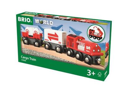 Brio Treno Merci Rosso - 3