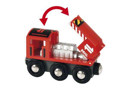 Brio Treno Merci Rosso - 4