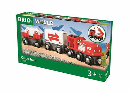 Brio Treno Merci Rosso - 8