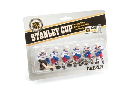Giocattolo Set giocatori Air Hockey New York Rangers Stiga