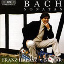 Sonate 1 - 3 - CD Audio di Johann Sebastian Bach,Franz Halasz