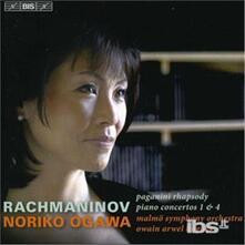 Concerti per Pianoforte No. 1 & 4 - CD Audio di Sergej Vasilevich Rachmaninov