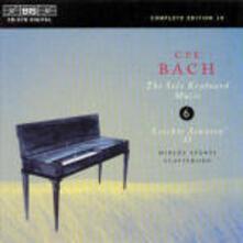 Solo Keyboard Music - CD Audio di Carl Philipp Emanuel Bach