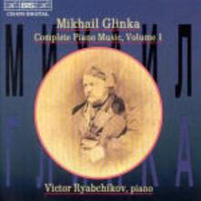 Piano Music Vol.1 - CD Audio di Mikhail Ivanovic Glinka