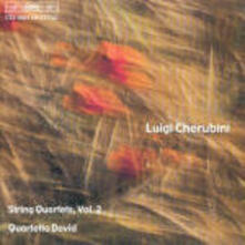 String Quartets Vol.2 - CD Audio di Luigi Cherubini