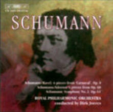 Sinfonia n.2 - Carnaval - Kinderjahr - CD Audio di Robert Schumann