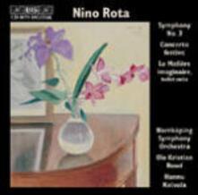 Symphony n.3 (Colonna Sonora) - CD Audio di Nino Rota
