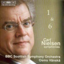 Sinfonie n.1, n.6 - CD Audio di Carl August Nielsen