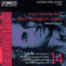 Cantate vol.14 - CD Audio di Johann Sebastian Bach