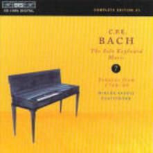 Musica per strumento a tastiera solo vol.7 - CD Audio di Carl Philipp Emanuel Bach