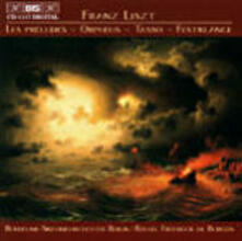 Les Preludes - Orpheus - Tass - CD Audio di Franz Liszt,Rafael Frühbeck de Burgos,Radio Symphony Orchestra Berlino