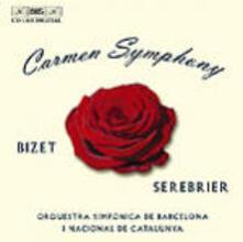 Carmen Symphony - CD Audio di Georges Bizet,José Serebrier