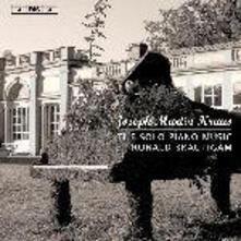 Musica per strumento a tastiera - CD Audio di Joseph Martin Kraus,Ronald Brautigam