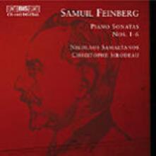 Piano Sonatas No. 1-6 - CD Audio di Samuil Feinberg