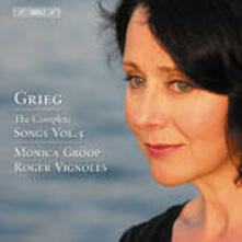 Lieder vol.5 - CD Audio di Edvard Grieg,Monica Groop