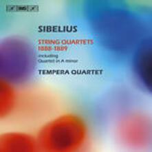 Quartetti per Archi 1888 - 1889 - CD Audio di Jean Sibelius,Tempera Quartet