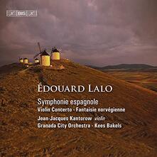 Symphonie Espagnole - Concerto per violino - Fantasia norvegese - CD Audio di Edouard Lalo
