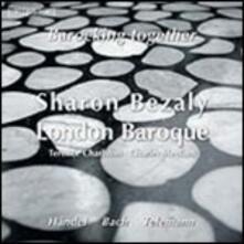 Barocking Together - CD Audio di Johann Sebastian Bach,Georg Philipp Telemann,Georg Friedrich Händel,Sharon Bezaly,Charles Medlam,Terence Charlston