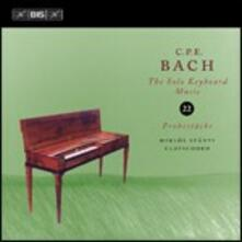 Musica per strumento a tastiera solo vol.22 - CD Audio di Carl Philipp Emanuel Bach,Miklos Spanyi