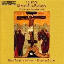 Matthaus Passion Bwv 244 - CD Audio di Johann Sebastian Bach