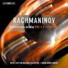 Three Symphonies - CD Audio di Sergej Vasilevich Rachmaninov