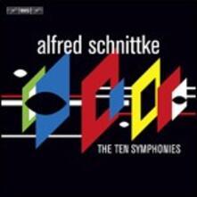 10 Sinfonie - CD Audio di Alfred Schnittke