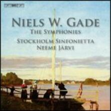 Eight Symphonies - CD Audio di Neeme Järvi,Niels Wilhelm Gade,Stockholm Sinfonietta