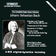 Complete Organ Music Vol2 - CD Audio di Johann Sebastian Bach,Hans Fagius