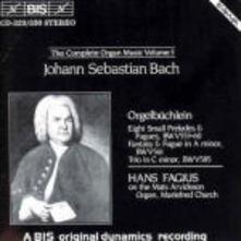 Complete Organ Music - CD Audio di Johann Sebastian Bach
