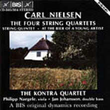 Quartetto per Archi in G Minor - CD Audio di Carl August Nielsen,Kontra Quartet